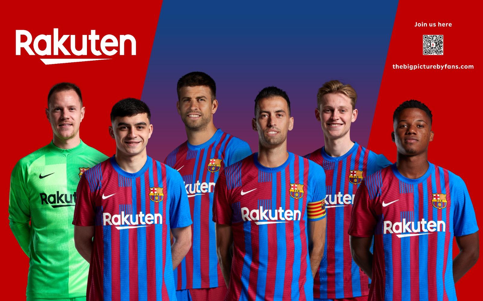 El Barça y Rakuten invitan un año más a los fans a formar parte de la fachada del Camp Nou