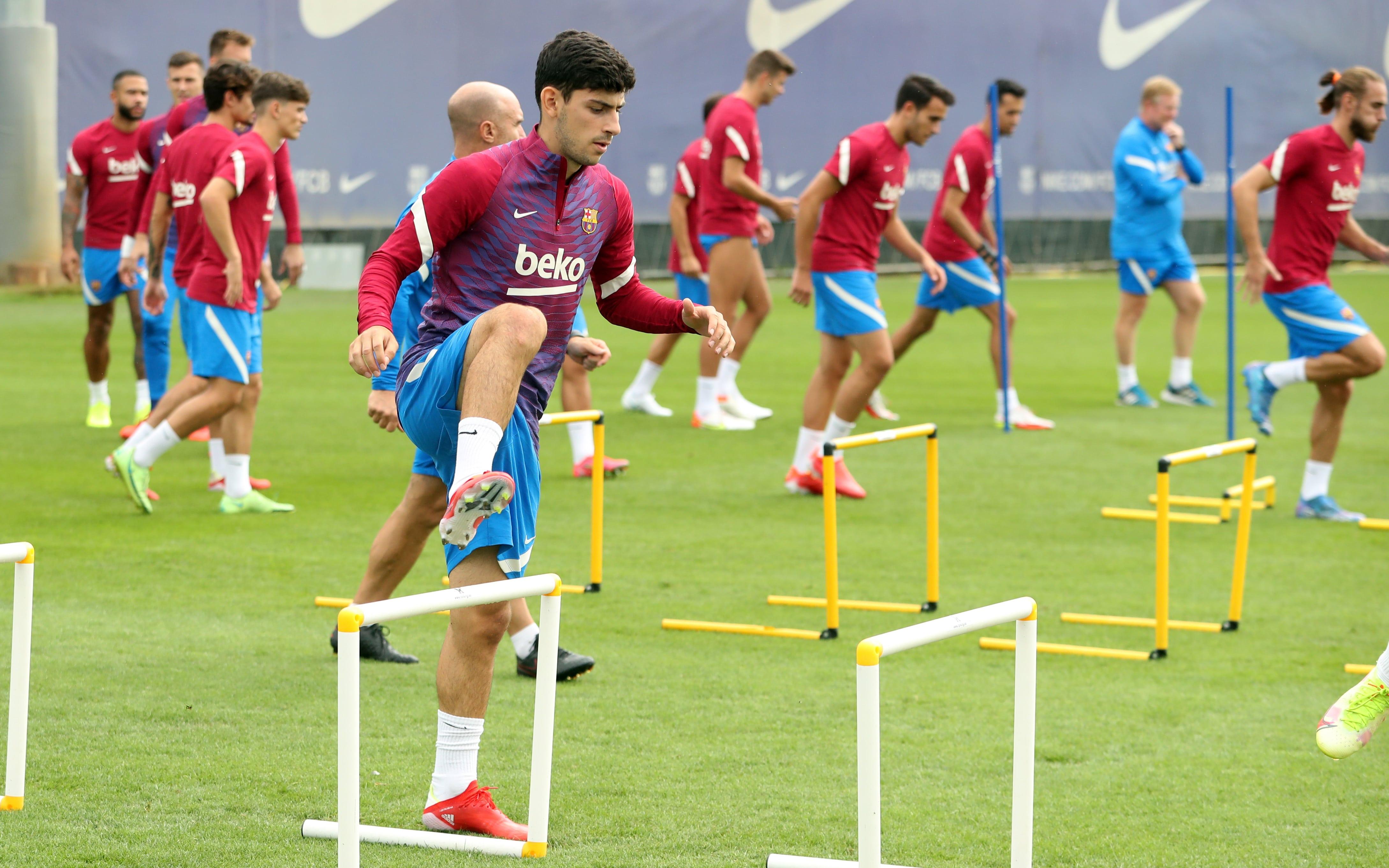 Recovery session after Cádiz - FC Barcelona
