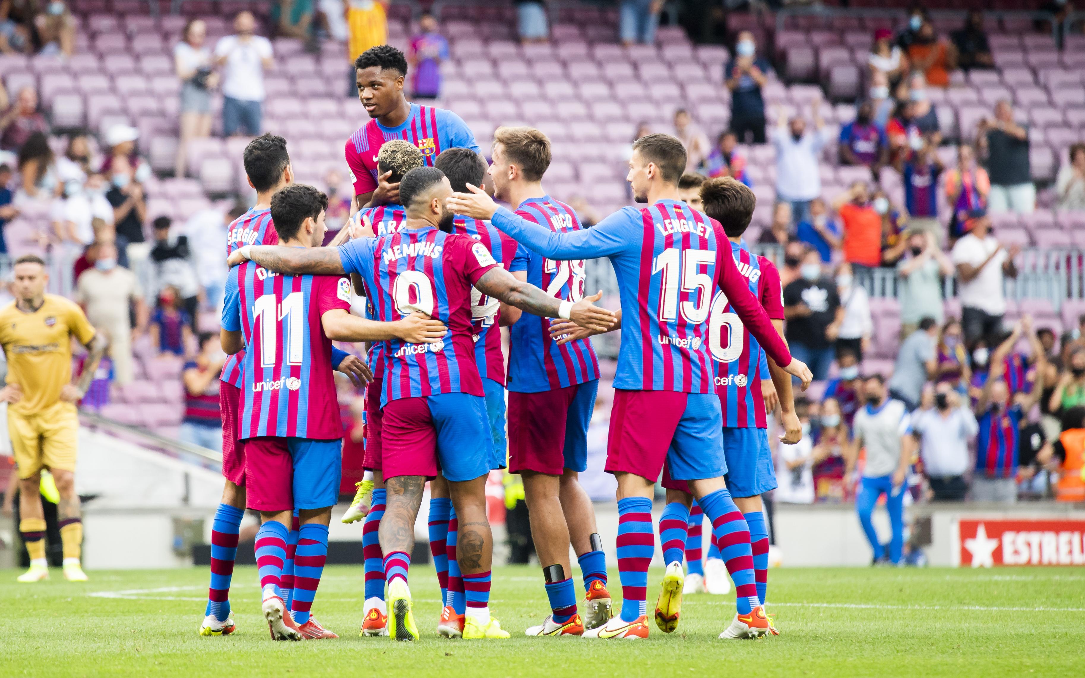 Barça 3-0 Levante: Party time at Camp Nou!
