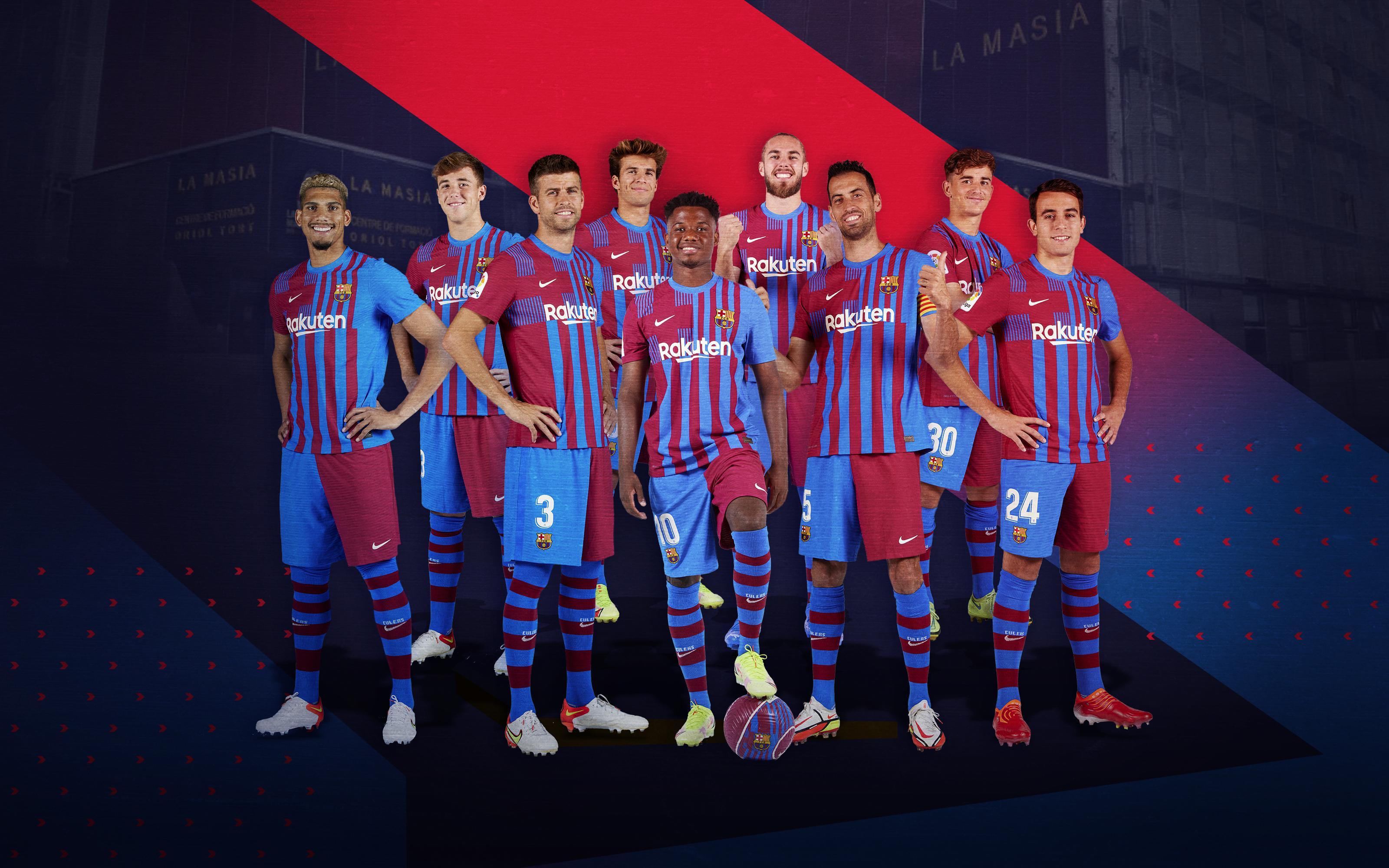 Nine Masia graduates against Levante