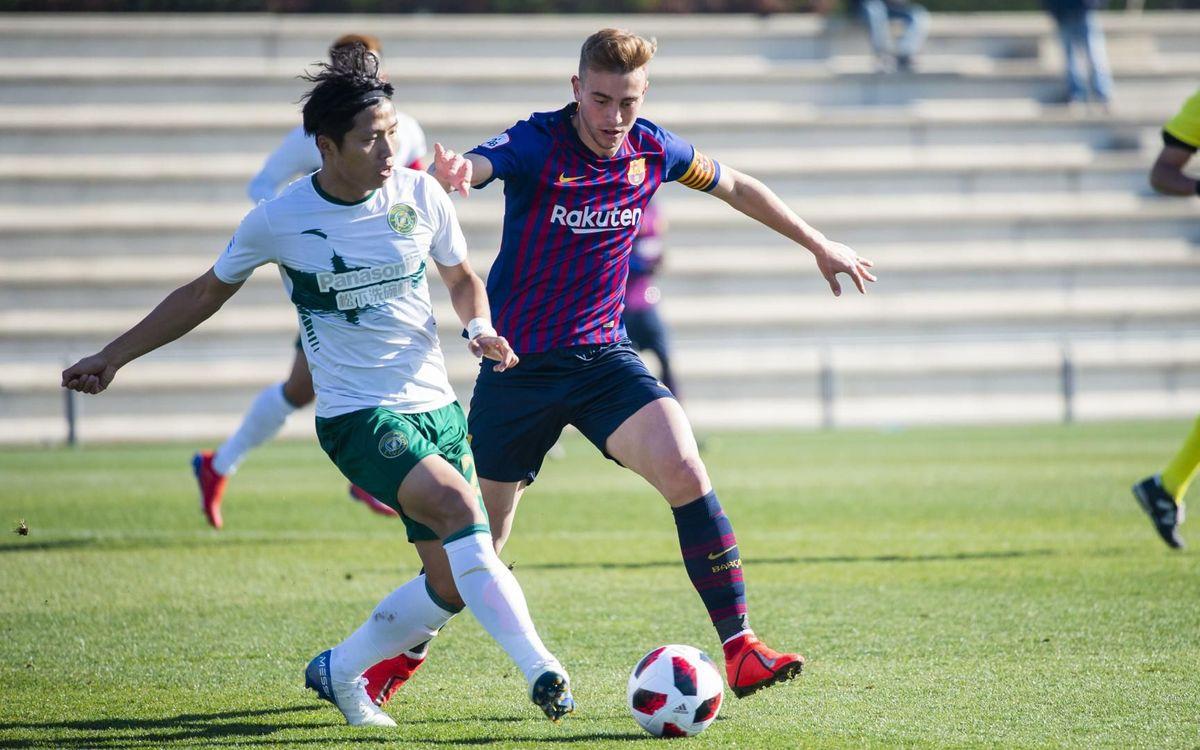 Barça B - CF Zhejiang Greentown: Amistoso serio y triunfo culé (3-1)