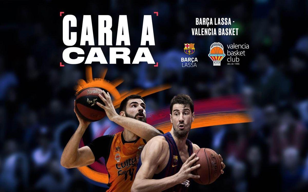El cara a cara del Barça Lassa-Valencia Basket