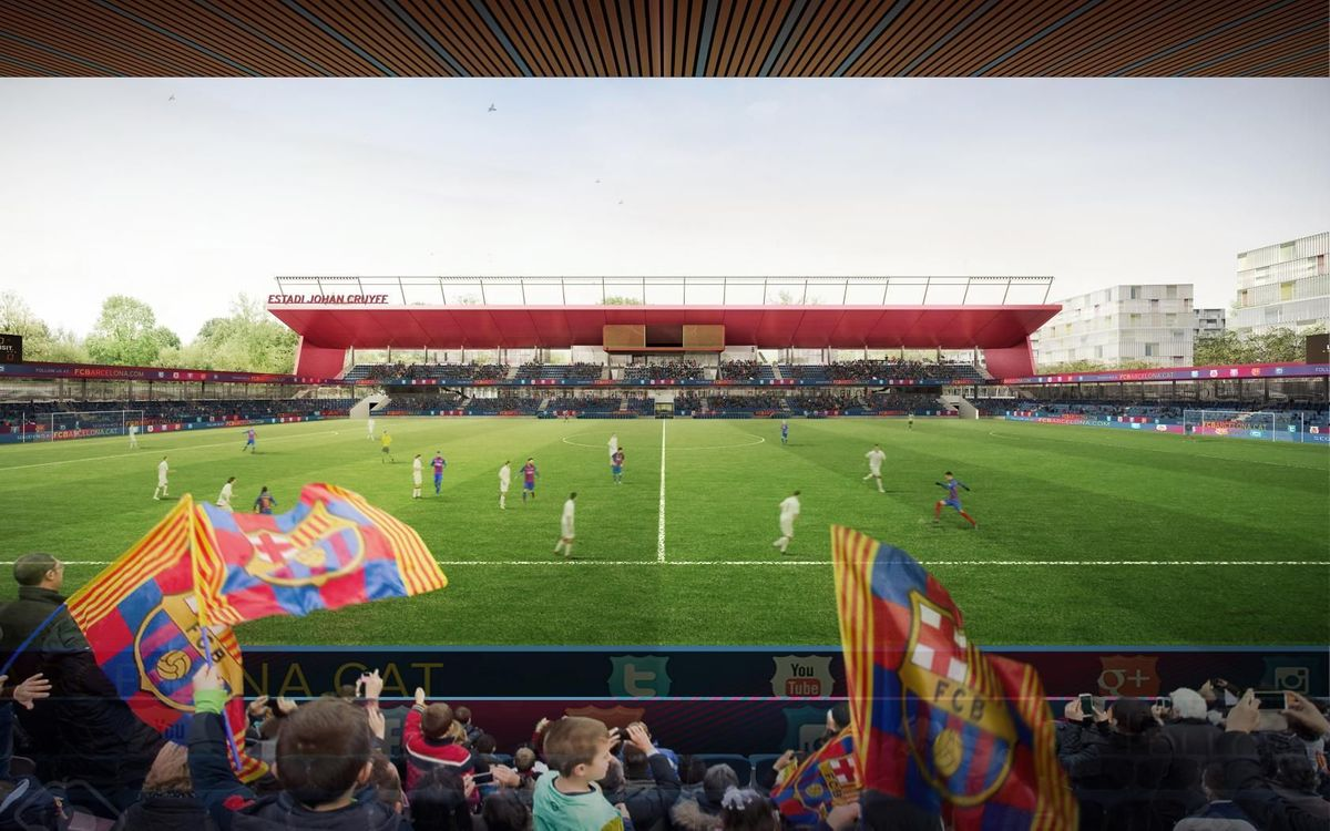 La Liga: Barcelona women's Johann Cryuff Stadium