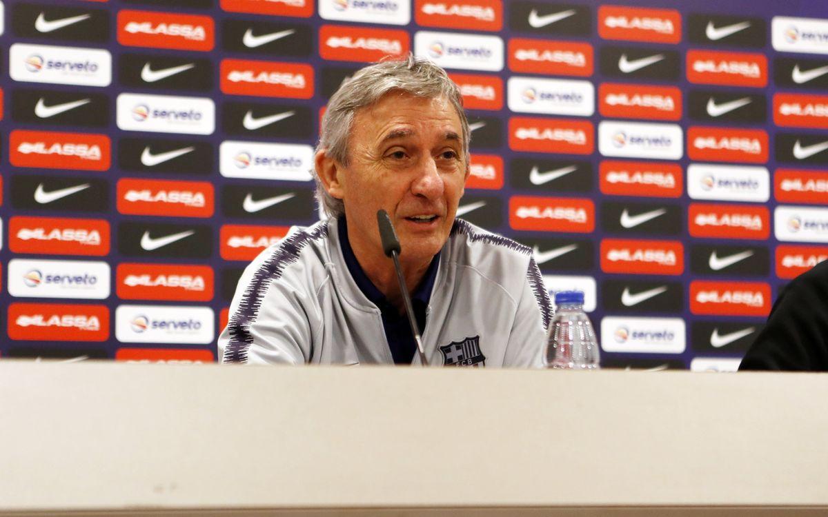 """Pesic: """"El València és un equip molt experimentat i complet"""""""