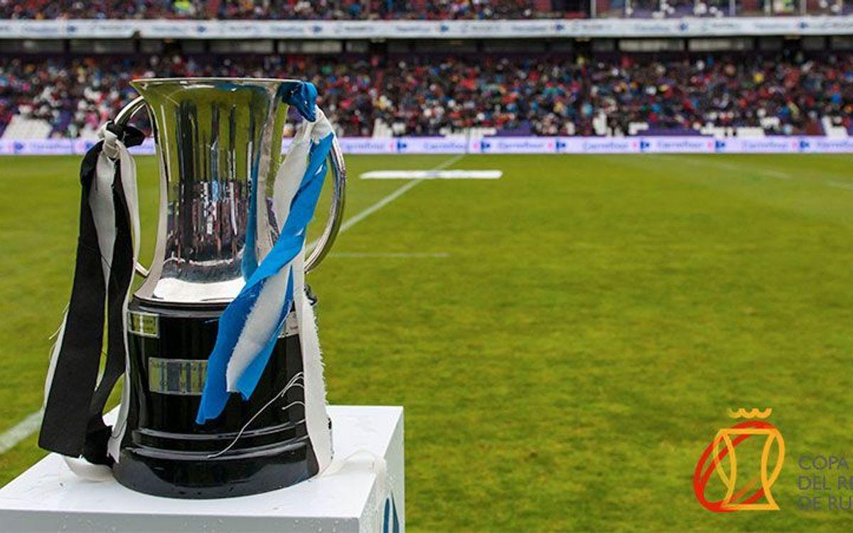 La final de Copa del Rei de rugbi es jugarà el dissabte 27 d'abril a les 16.00h