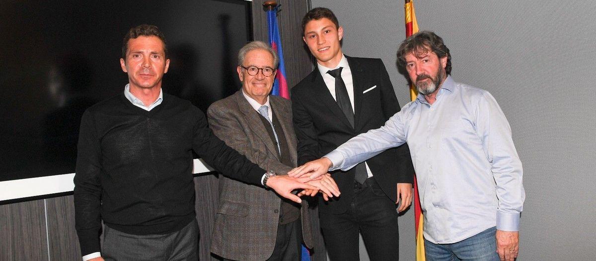 Jorge Cuenca, blaugrana fins el 2021