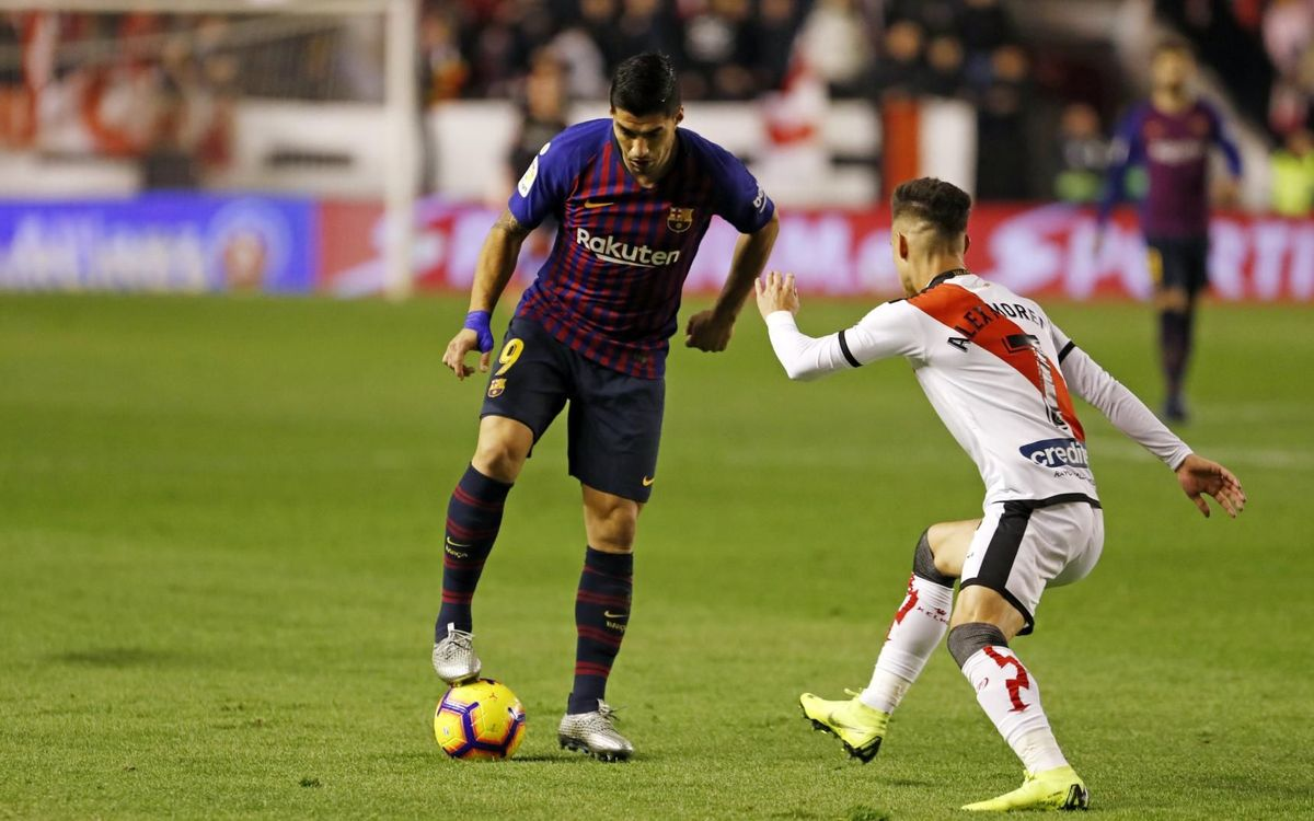 Barça v Rayo kick off time confirmed