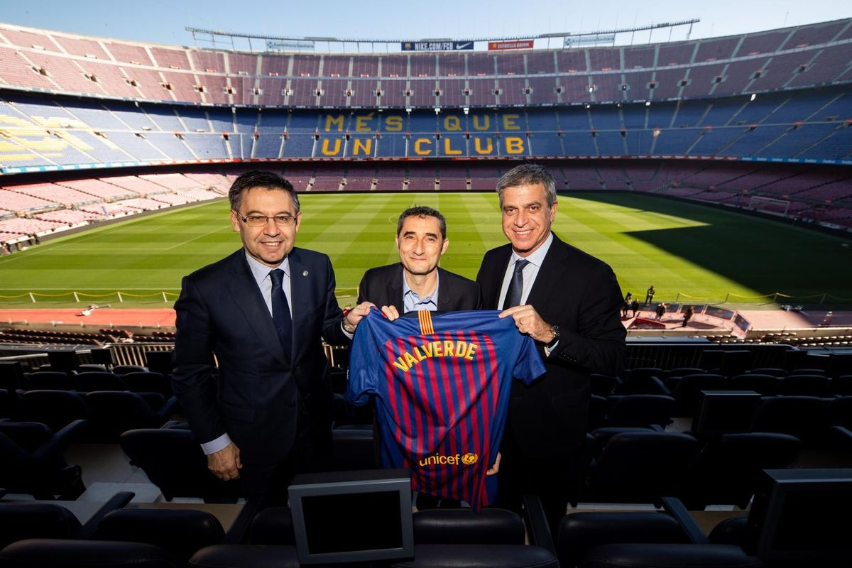 Agreement to extend Ernesto Valverde's contract - GERMÁN PARGA