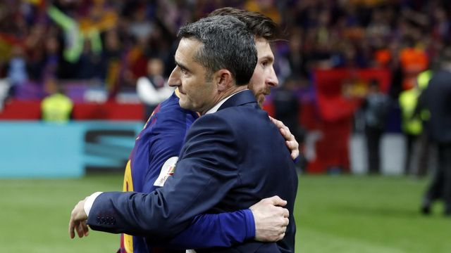 Valverde and Messi