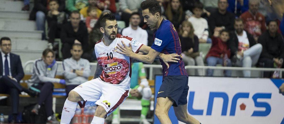 ElPozo Murcia – Barça Lassa: S'escapa el triomf al darrer minut (5-5)