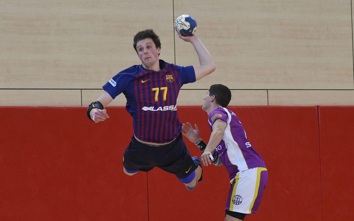 Barça Lassa B – Sant Martí Adrianenc (39-32): S'emporten el derbi