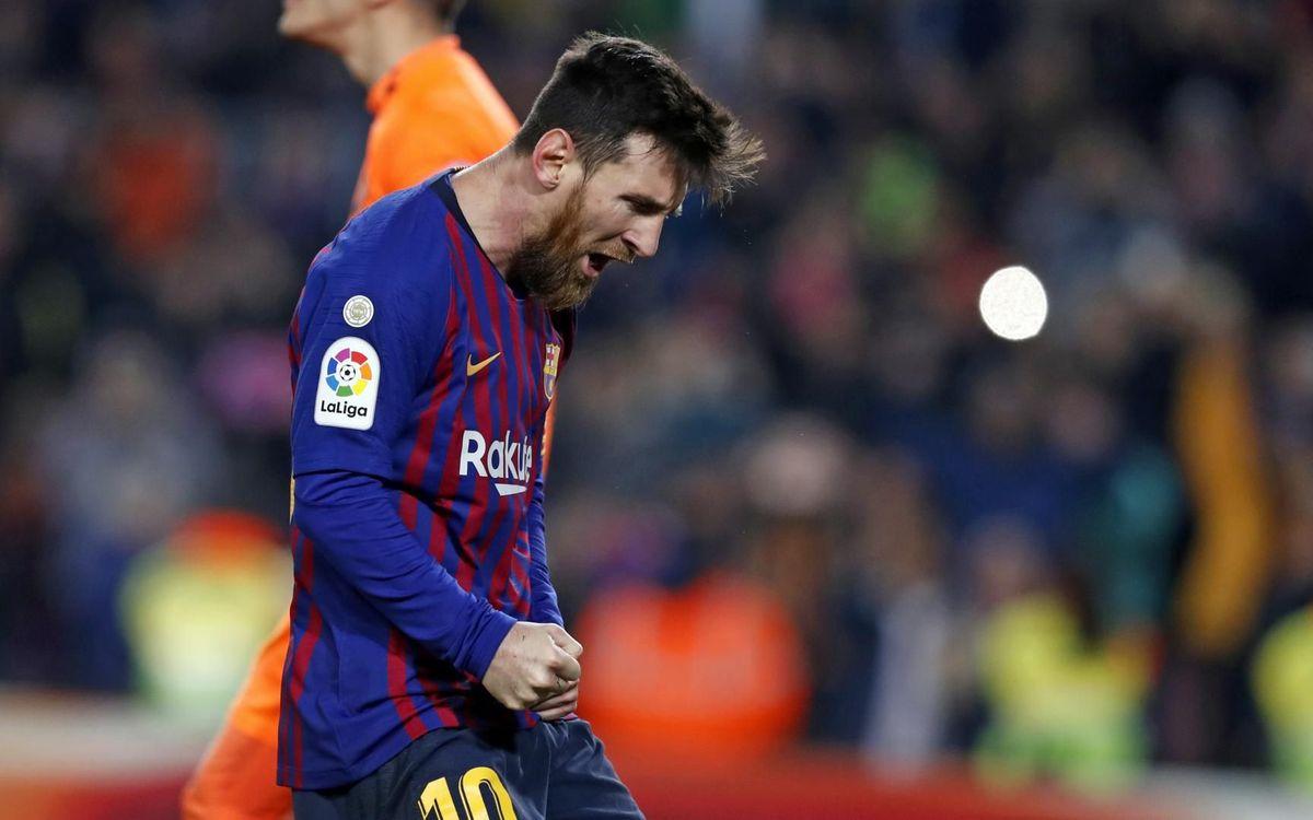 Barça – Valladolid : Le leader renoue avec le succès (1-0)