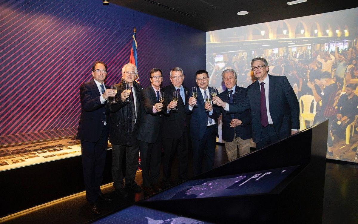 Inaugurat el nou Espai Penyes del Museu