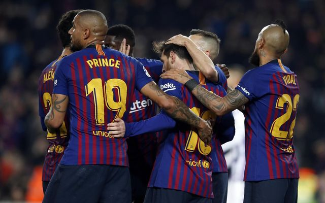 b02fe9b4978 FC Barcelona 1 Valladolid 0  Back in the groove
