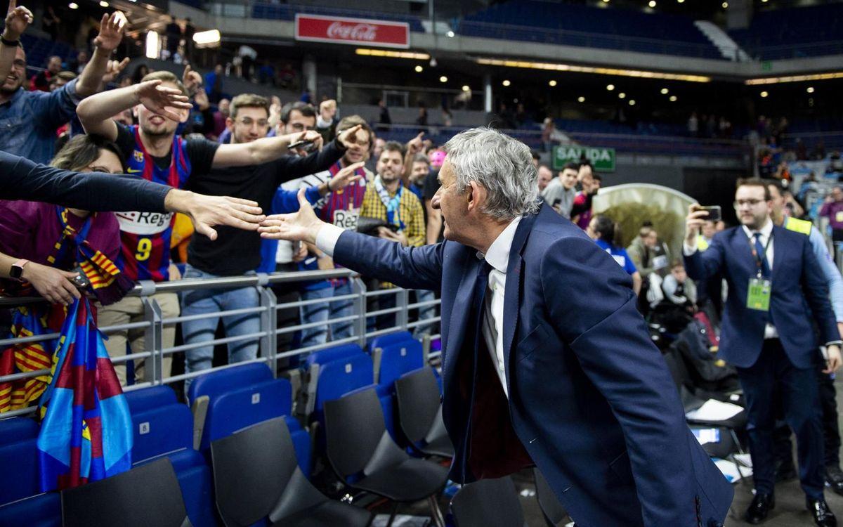 El Barça Lassa celebra la Copa 2019 - VÍCTOR SALGADO