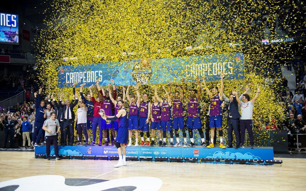 Real Madrid 93 – 94 Barça Lassa: Copa del Rey Champions!