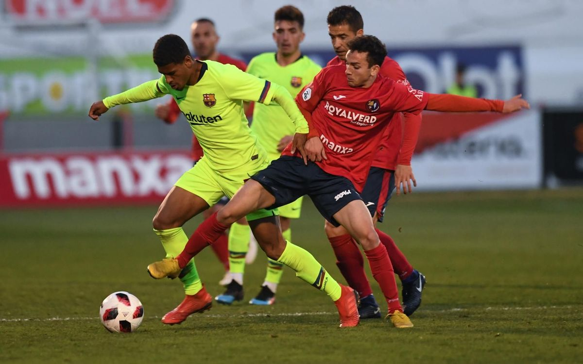 Olot – Barça B: Se escapa el triunfo en el último instante (1-1)