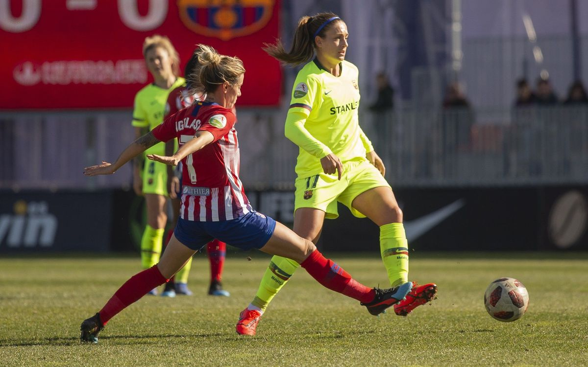 Atlético Femenino 2-0 Barça Women: Beaten by effectiveness
