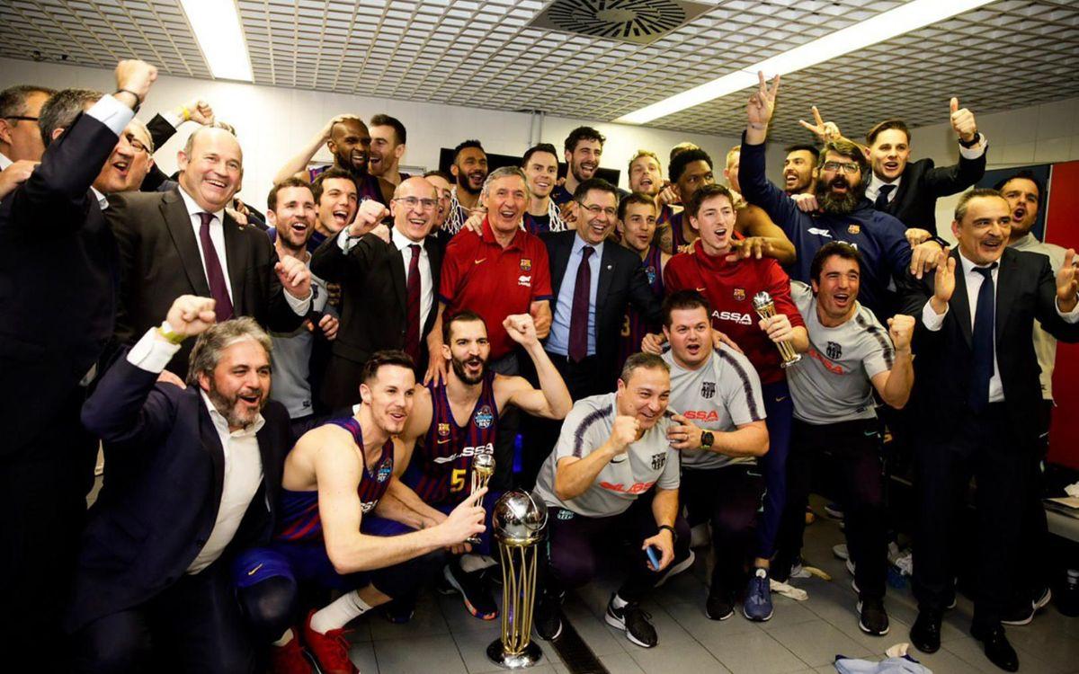 El Barça Lassa logra la Copa del Rey número 25