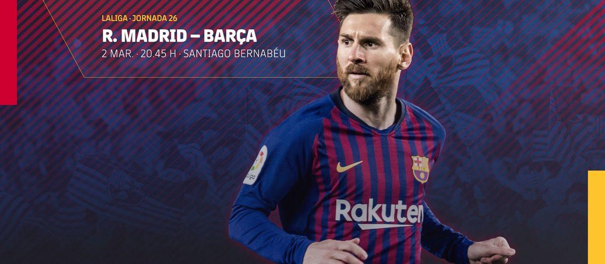 Venda d'entrades per al partit de Lliga al Bernabéu