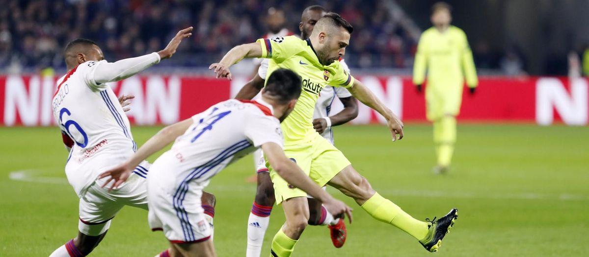 OLYMPIQUE LYONNAIS - FC BARCELONA: MIGUEL RUIZ