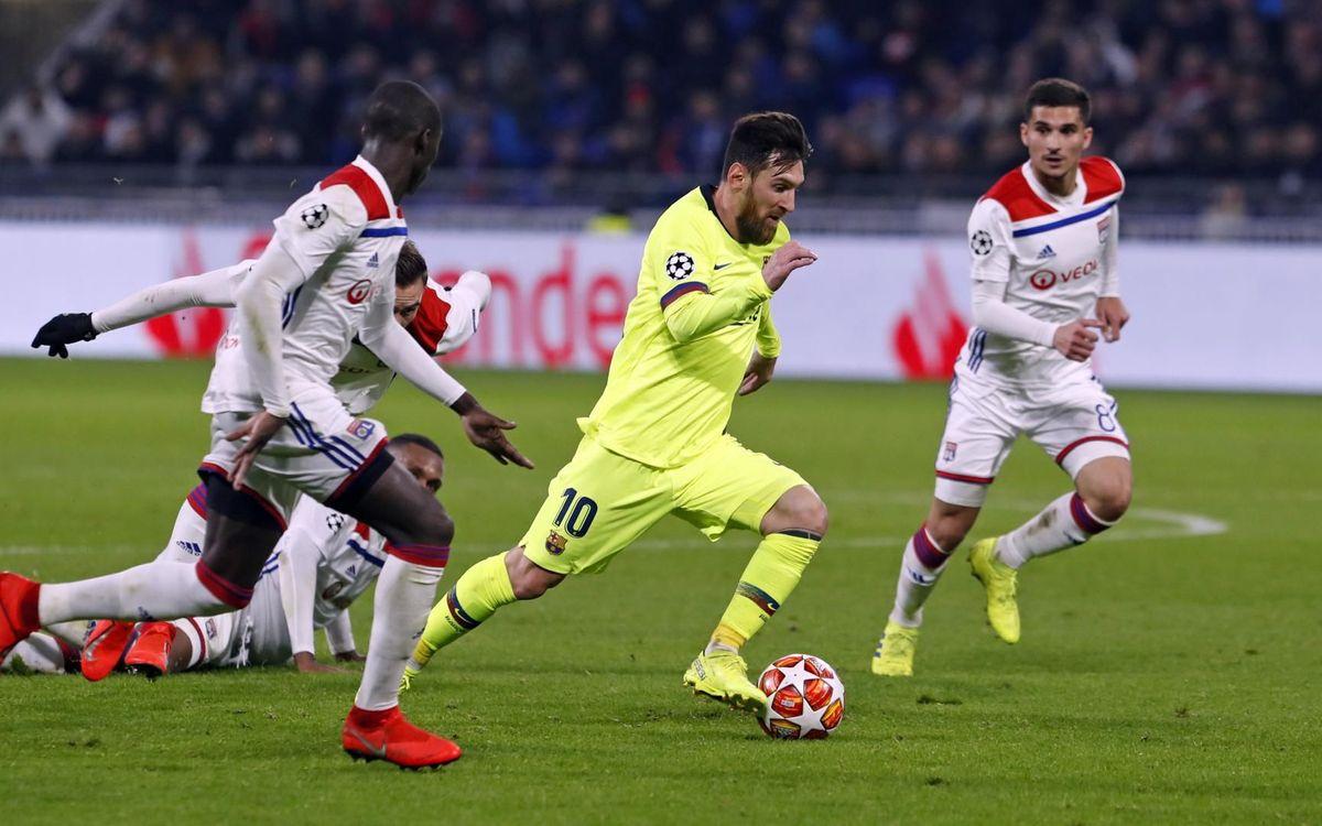 Olympique Lyonnais – Barça : Le Camp Nou décidera (0-0)