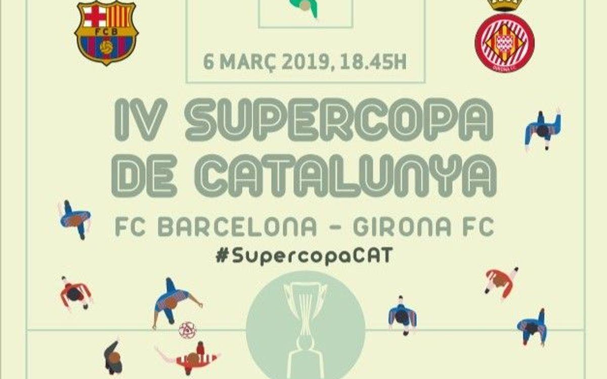 Supercopa de Catalunya amb el 50% de descompte per als socis