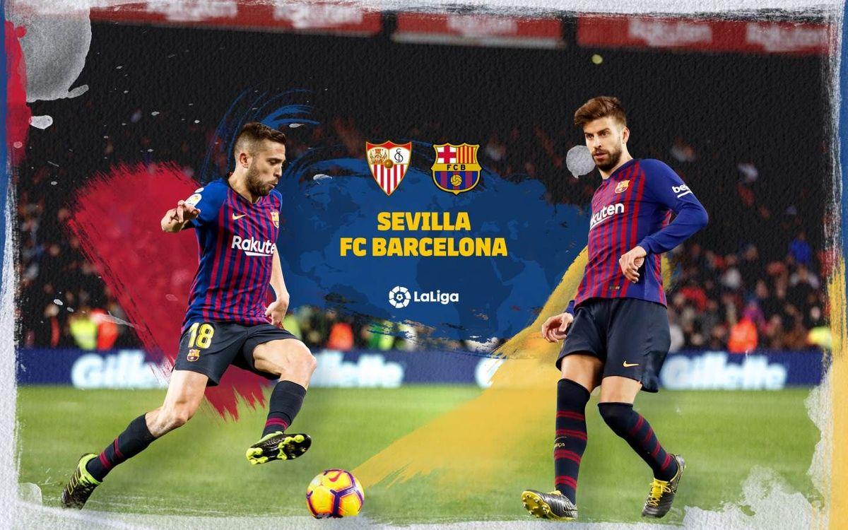 Cuándo y dónde ver el Sevilla-Barça