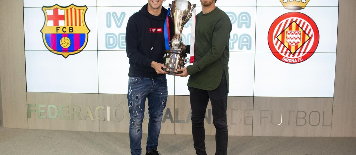 Aleñá i Muniesa presenten la Supercopa de Catalunya