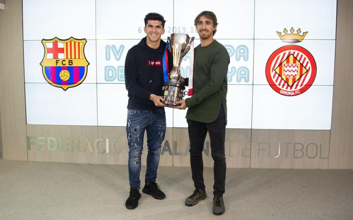 Aleñá y Muniesa presentan la Supercopa de Catalunya