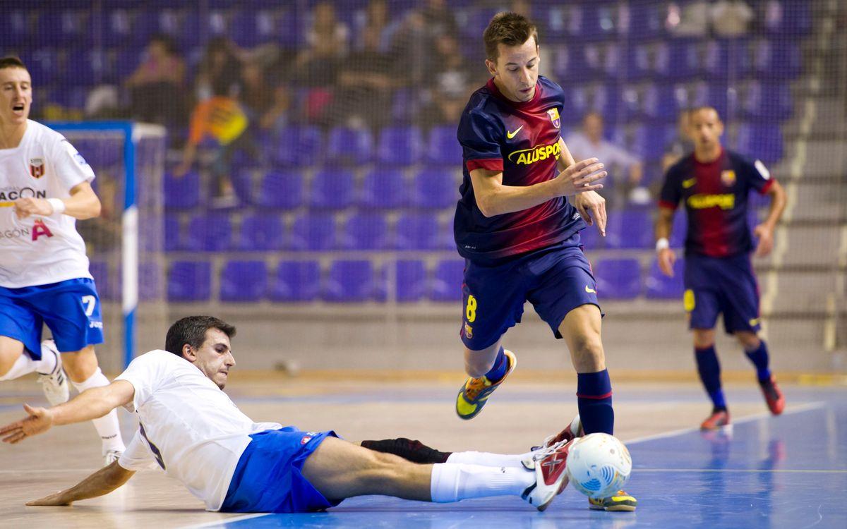 L'Umacon Saragossa, rival del Barça en els quarts de final de la Copa d'Espanya de futbol sala