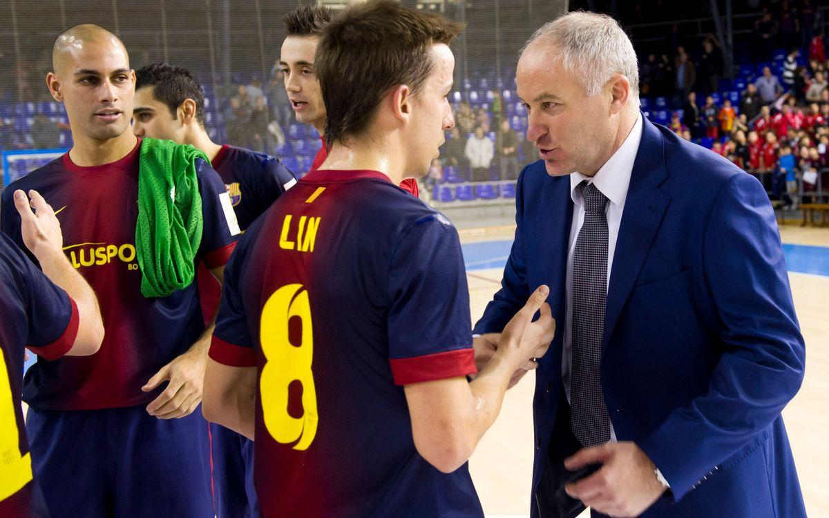 "Marc Carmona diu que davant Santiago Futsal ""cal guanyar sí o sí"""