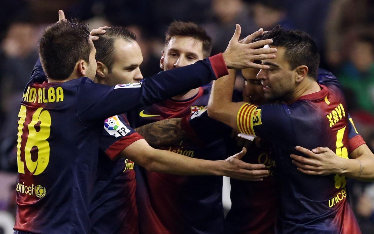 Barça stats for 2012