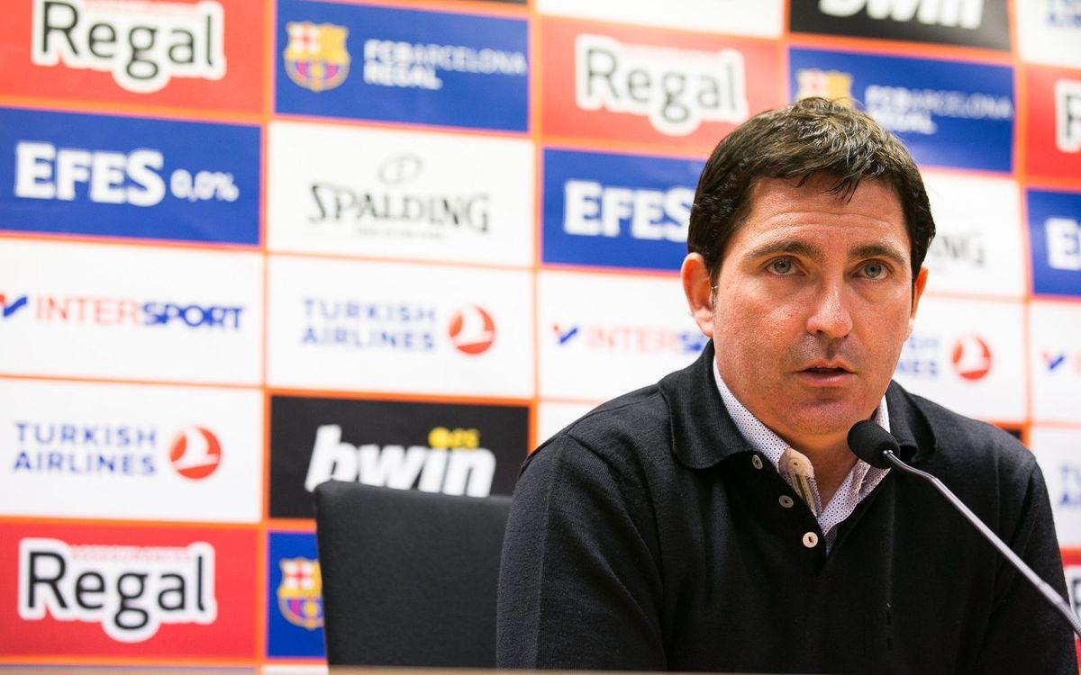 """Xavi Pascual: """"Ens ha faltat de tot per guanyar el partit"""""""