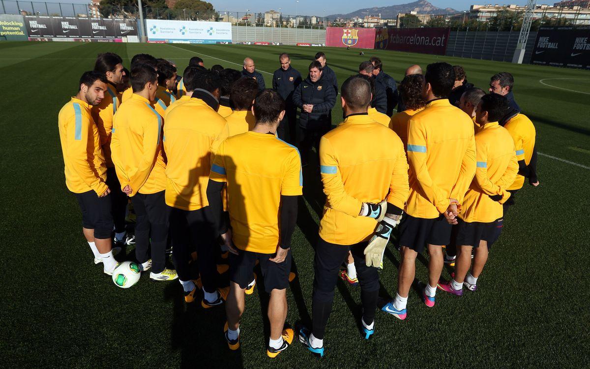 Xavi, Piqué, Iniesta et Pedro au repos contre Cordoba