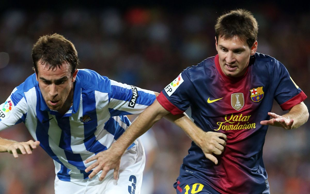 Real Sociedad v FC Barcelona: Looking to set record straight