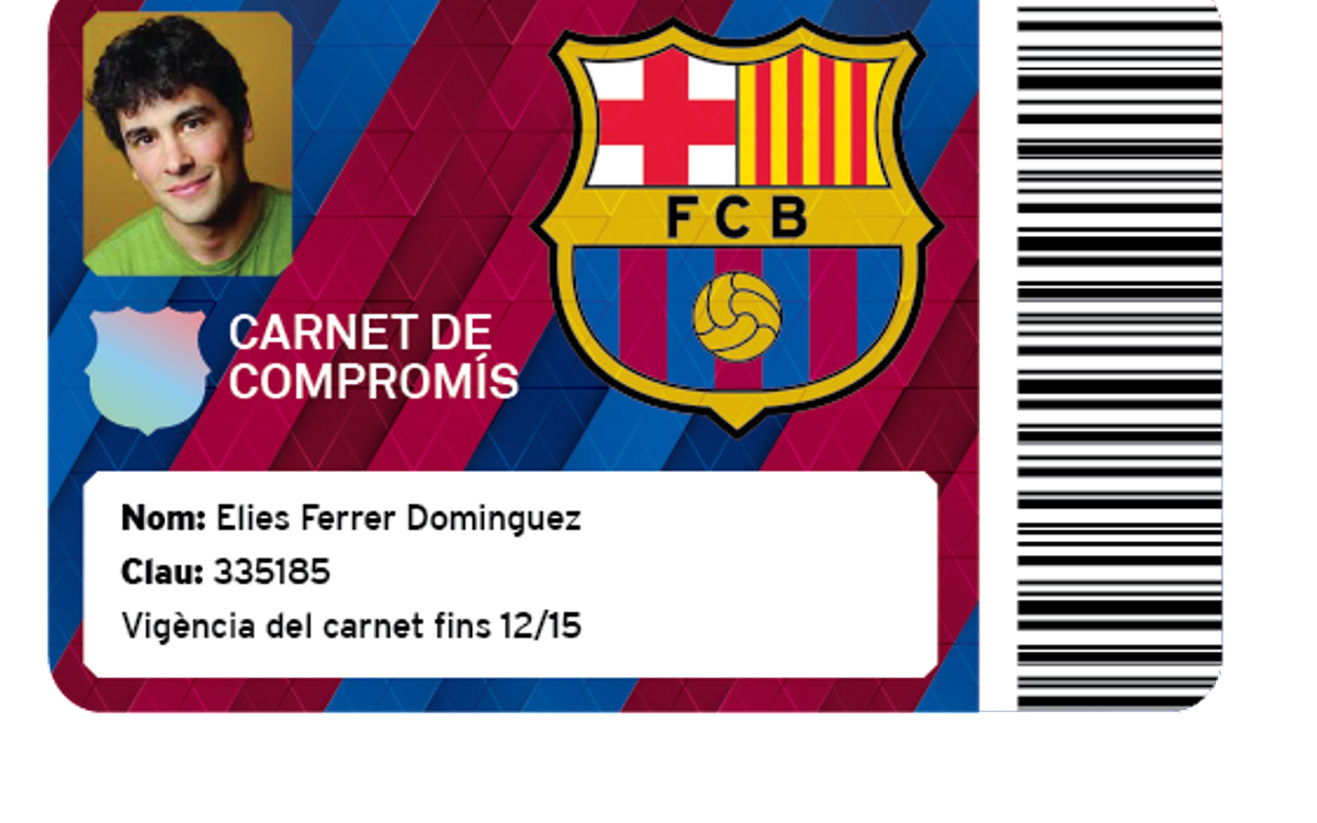 Commitment Card for Penya presidents