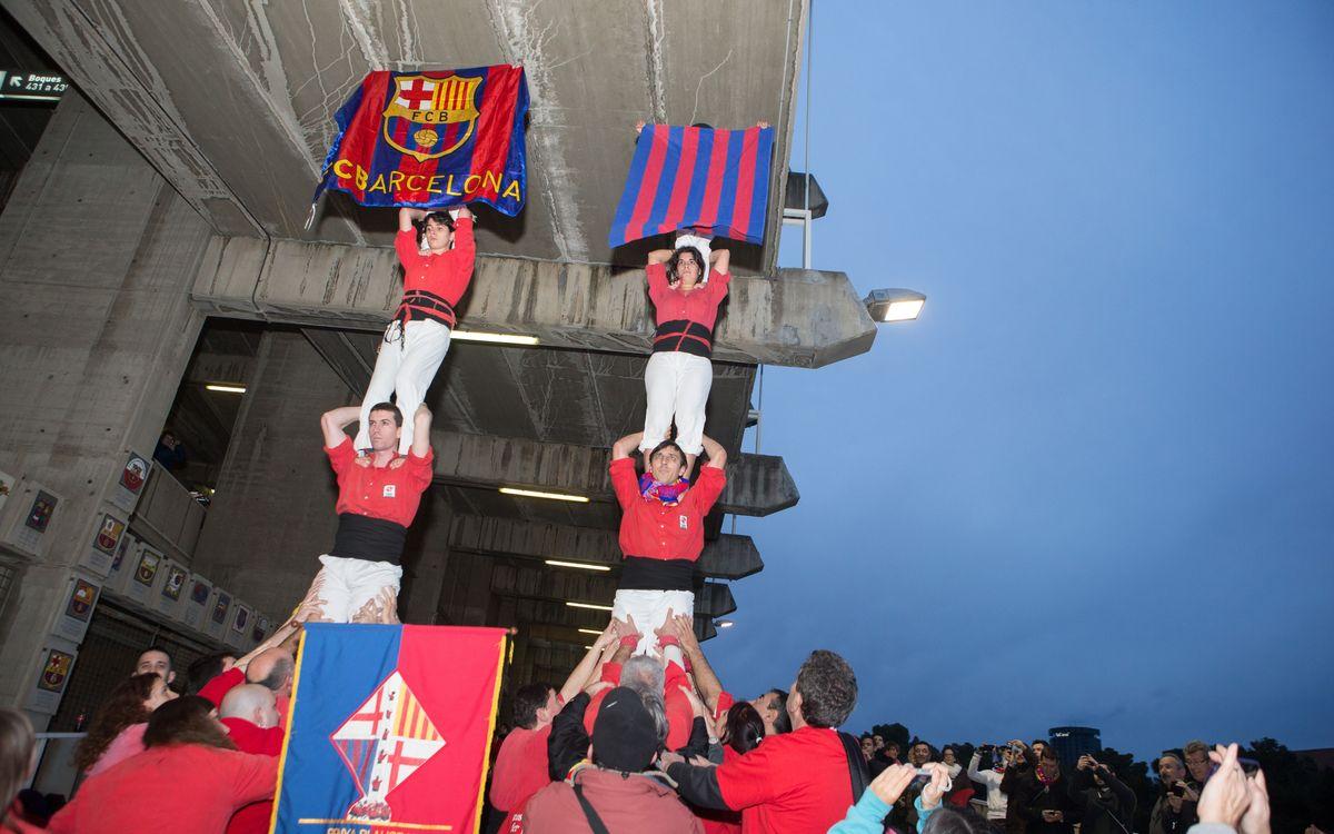 Pilars i escuts abans del Barça – Osasuna