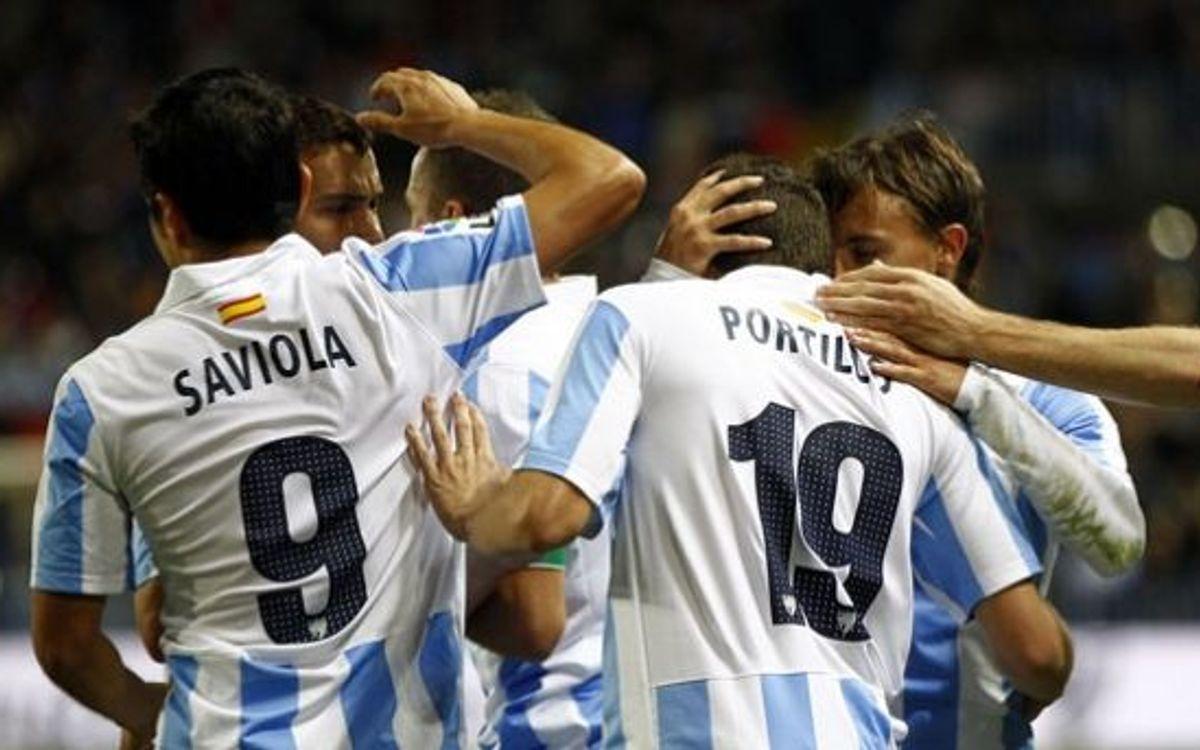 Malaga await rival