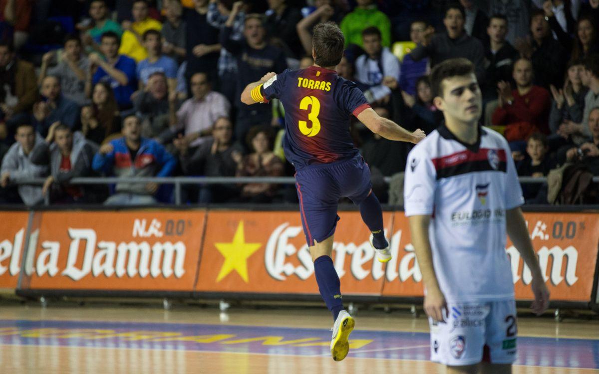El Barça Alusport, més líder