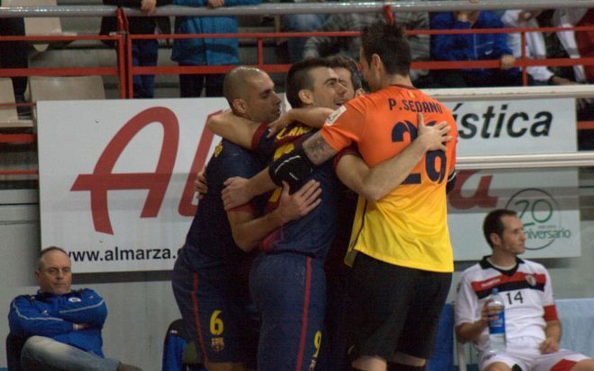 Carnicer Torrejón – FCB Alusport: The Blaugrana qualify for the semifinals (1-3)