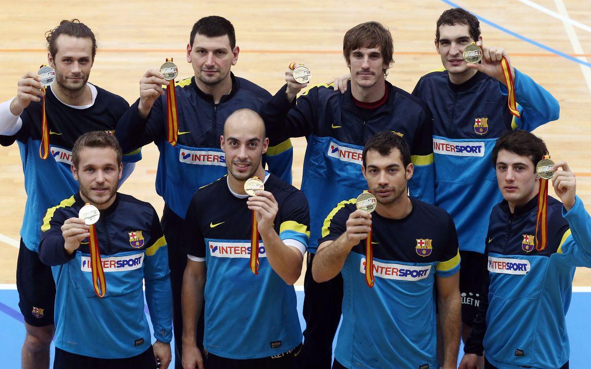 Retornen als entrenaments els mundialistes del FC Barcelona Intersport