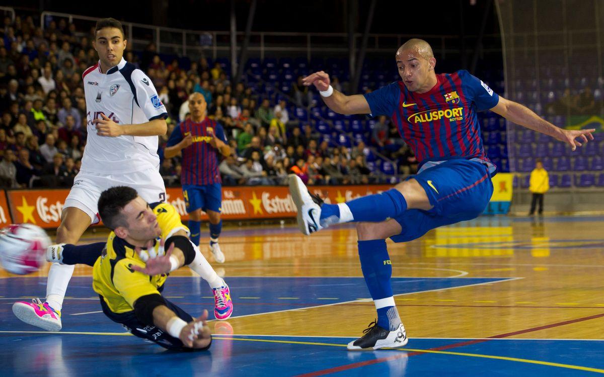 El Barça Alusport torna al Palau després de les dues derrotes a Navarra