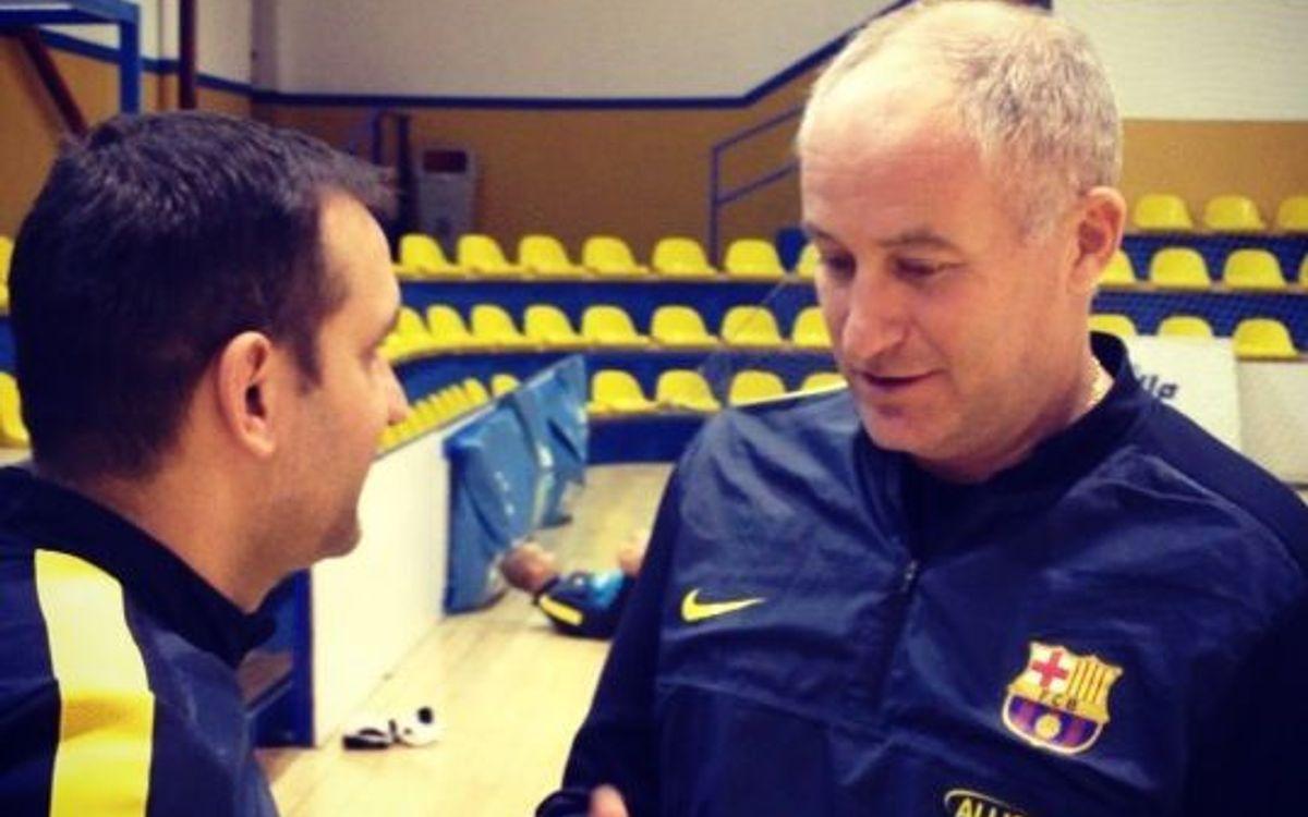 Marc Carmona alerta dels perills d'un Ríos Renovables motivadíssim per entrar a la Copa d'Espanya