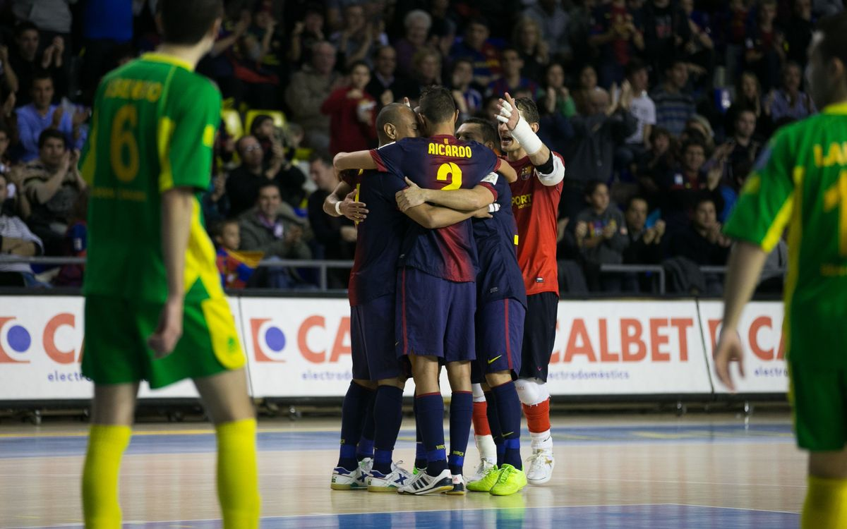 FCB Alusport - Gáldar: Three hard-fought points (4-3)