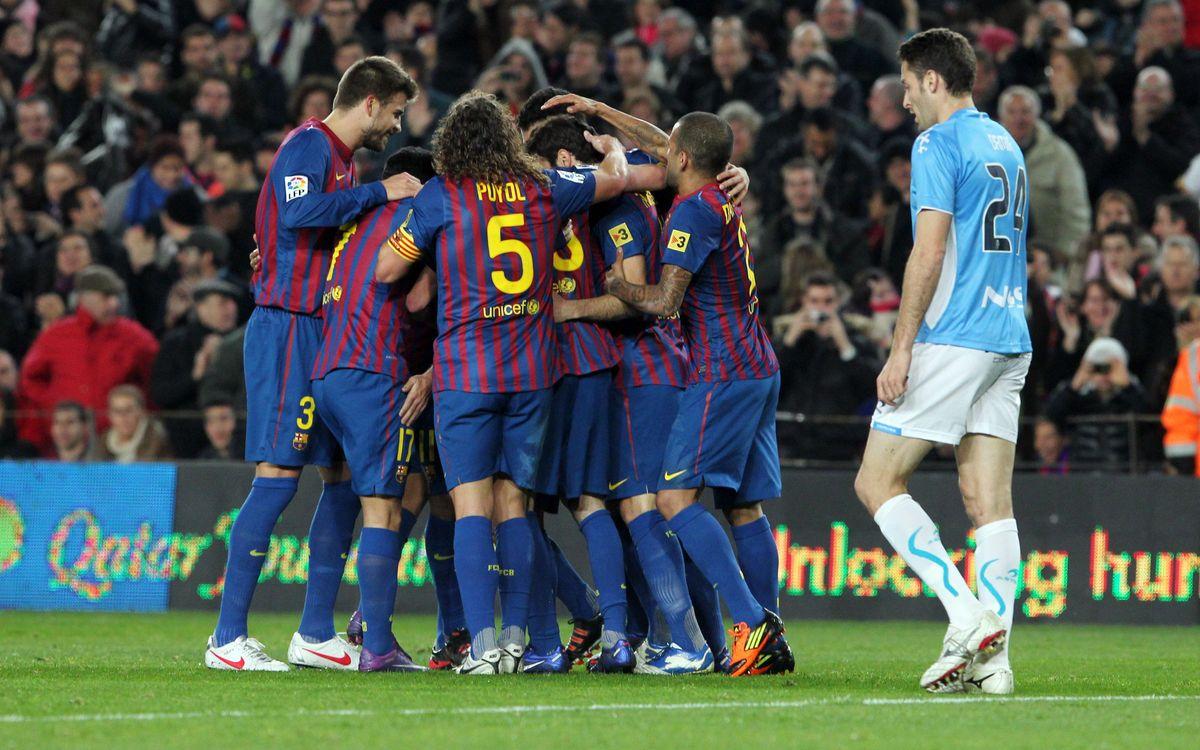 Happy New Years at FC Barcelona