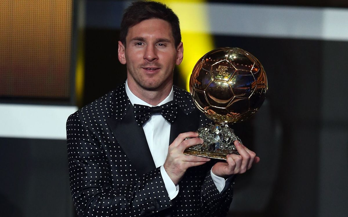 Messi strikes gold for fourth time