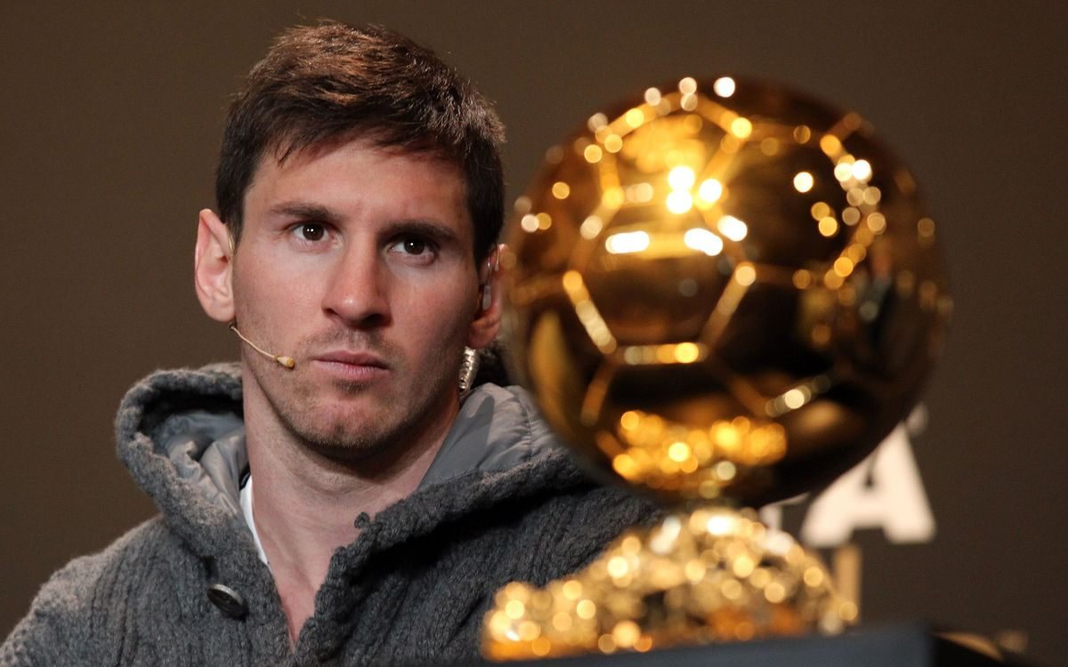 The movie: Messi's fourth Ballon d'Or