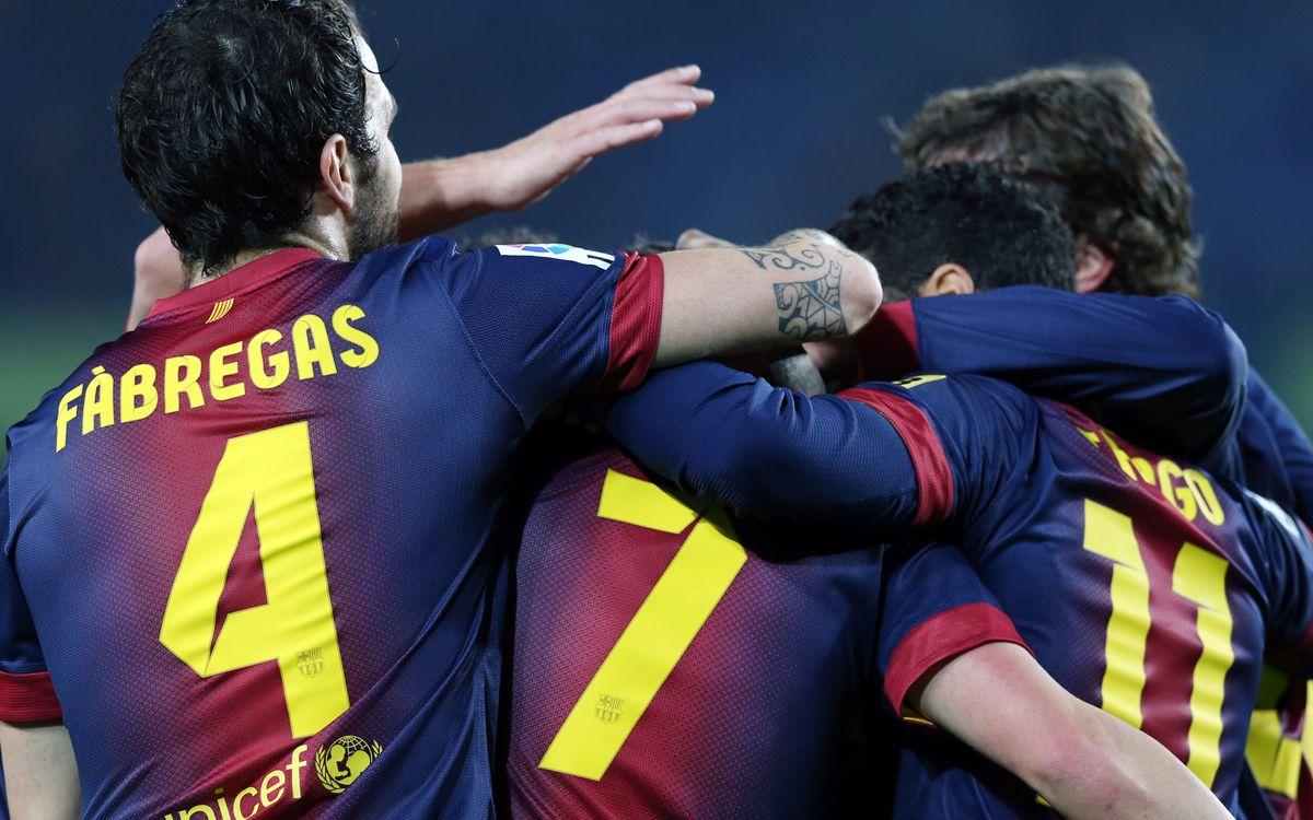 FC Barcelone - Cordoba: Spectacle et qualification (5-0)