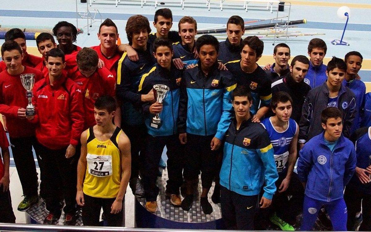 Guanyadors del Campionat de Catalunya sub-20